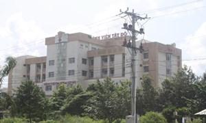 Khởi tố vụ án sử dụng tài sản trái phép tại bệnh viện Tây Đô