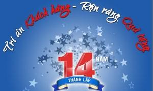Công ty Chứng khoán Bảo Việt tri ân khách hàng nhân kỷ niệm 14 năm thành lập