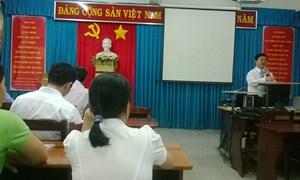 Khai giảng Lớp Bồi dưỡng Kiến thức Quản lý Nhà nước ngạch chuyên viên cho cán bộ Thuế TP. Hồ Chí Minh