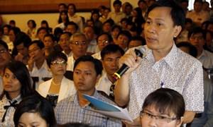600 doanh nghiệp khu vực phía Nam tham dự hội nghị đối thoại với lãnh đạo thuế, hải quan