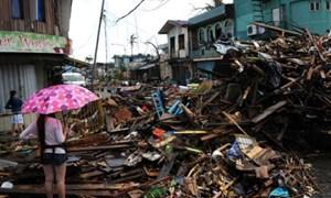 Philippines: Bảo hiểm bồi thường 2 tỷ USD vì siêu bão Hải Yến