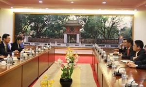 Tăng cường hợp tác trong lĩnh vực chứng khoán giữa Việt Nam và Hàn Quốc