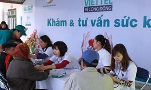 Viettel tổ chức khám bệnh miễn phí cho 600 hộ nghèo ở Điện Biên