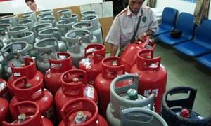 Mức tăng giá gas theo diễn biến của thị trường thế giới