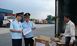 Tháng 11/2013: Ngành Hải quan đã phát hiện, bắt giữ, xử lý 1.863 vụ vi phạm
