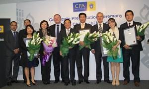 CPA Australia tổ chức Lễ trao chứng chỉ hội viên