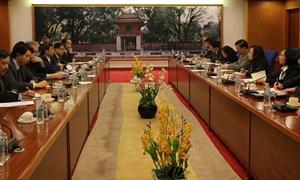 Tăng cường hợp tác giữa Bộ Tài chính và Ngân hàng Phát triển châu Á