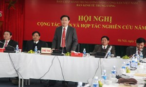 Nhân tố quyết định thành công của Ban Kinh tế Trung ương