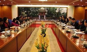 Tăng cường hợp tác giữa Bộ Tài chính Việt Nam và Ngân hàng Thế giới