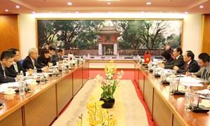 Hỗ trợ doanh nghiệp Hàn Quốc đầu tư vào Việt Nam