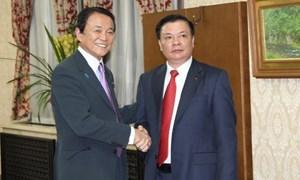 Tăng cường hợp tác tài chính Việt Nam và Nhật Bản
