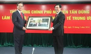 Chính phủ luôn ủng hộ và phối hợp chặt chẽ với Ban Kinh tế Trung ương
