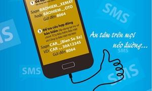 """""""An tâm trên mọi nẻo đường"""" với dịch vụ SMS/Email của Bảo hiểm Bảo Việt"""
