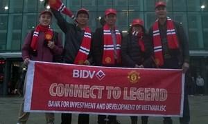 Chủ thẻ BIDV và hành trình xem trận Derby tại Old Trafford