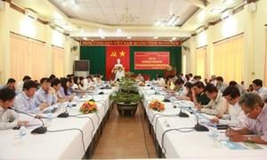 Trưởng Ban Kinh tế Trung ương chỉ đạo sơ kết Nghị quyết Trung ương 6 khóa X tại các tỉnh Miền Trung
