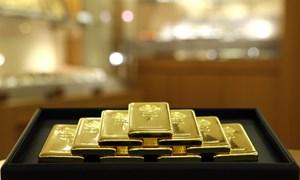Giá vàng chững ở vùng đáy của nửa tháng