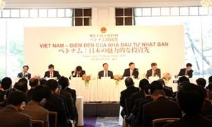 """30 doanh nghiệp lớn Việt Nam sang Nhật """"gọi vốn"""" đầu tư"""