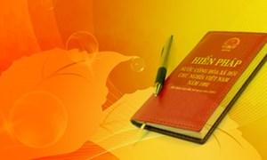 Tiếp tục xây dựng và hoàn thiện Nhà nước pháp quyền XHCN theo tinh thần và nội dung của Hiến pháp mới