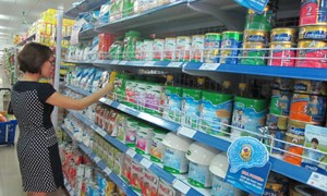 469 mặt hàng sữa có giá bình ổn giảm từ 0,3 đến 26,37%