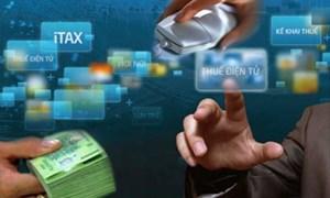 """5 tổ chức tín dụng được triển khai """"Nộp thuế điện tử"""""""