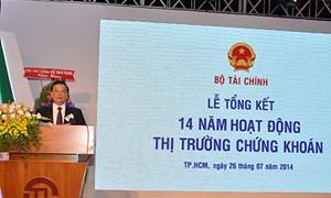 Bộ trưởng Đinh Tiến Dũng: 5 nhiệm vụ trọng tâm của ngành chứng khoán