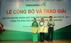 Hội thi Cán bộ Ngân quỹ giỏi Vietcombank lần thứ III khu vực miền Trung Tây Nguyên thành công tốt đẹp