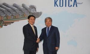 Các cơ quan của Hàn Quốc đề nghị thúc đẩy hợp tác đầu tư lĩnh vực tài chính, ngân hàng