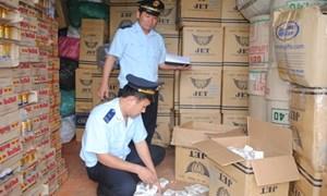 Tập trung chống buôn lậu các mặt hàng cấm, độc hại