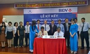 BIDV ký thỏa thuận hợp tác với trường Đại học Ngân hàng TP. Hồ Chí Minh