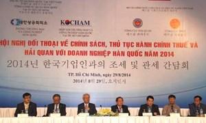 Bộ Tài chính đối thoại, giải đáp vướng mắc cho doanh nghiệp Hàn Quốc