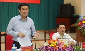 Ban Kinh tế Trung ương làm việc với Thường trực tỉnh ủy Nghệ An