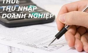 Quy định mới về thuế thu nhập doanh nghiệp