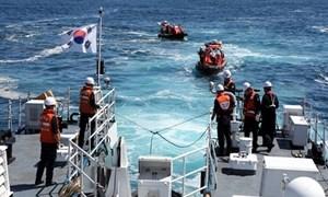 Căng thẳng quan hệ Trung-Hàn sau vụ ngư dân Trung Quốc bị bắn chết