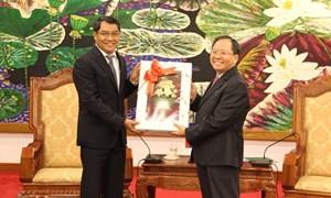 Hải quan Việt – Lào thúc đẩy hợp tác hướng tới AEC