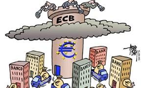 ECB đưa ngân hàng vào tầm ngắm