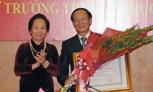 GS.,TS. Nguyễn Công Nghiệp nhận Huân chương Độc lập hạng Nhì