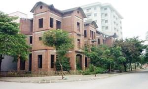 Hà Nội: 35% số căn biệt thự hiện đang bị bỏ hoang