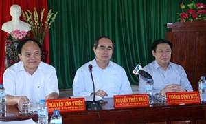 Ban Kinh tế Trung ương và Trung ương Mặt trận Tổ quốc Việt Nam khảo sát mô hình hợp tác xã