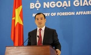 Việt Nam nêu lập trường về vụ kiện Trọng tài Biển Đông