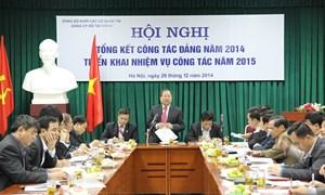 Đảng bộ Bộ Tài chính góp phần tạo nên thắng lợi của ngành năm 2014