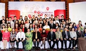 Vinh danh các học viên ACCA đạt thành tích cao năm 2015