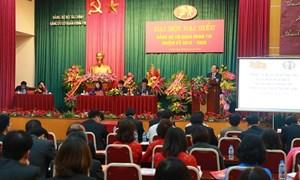 Đẩy mạnh các hoạt động hướng tới Đại hội Đảng bộ Bộ Tài chính
