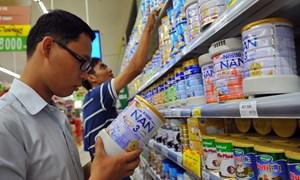 715 mặt hàng sữa trẻ em đã được công bố giá