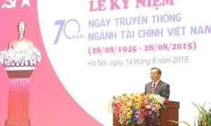 Ngành Tài chính: Tự hào truyền thống vẻ vang 70 năm xây dựng và trưởng thành