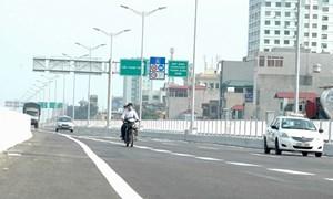 Tăng gấp 10 lần mức phạt tiền với xe máy đi vào cao tốc