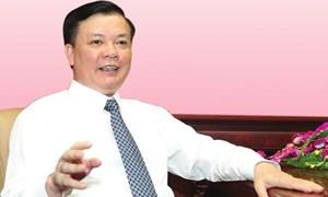 Bộ trưởng Đinh Tiến Dũng tiếp tục trúng cử Ban Chấp hành Trung ương khóa XII