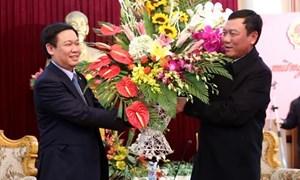 Ủy viên Bộ Chính trị Vương Đình Huệ thăm các tỉnh Hưng Yên, Nam Định và Hà Nam
