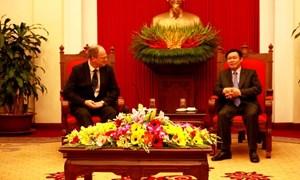 Quan hệ song phương giữa Đức và Việt Nam đang phát triển tốt đẹp