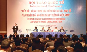 """""""Liên kết vùng trong quá trình tái cơ cấu kinh tế, chuyển đổi mô hình tăng trưởng của Việt Nam"""""""