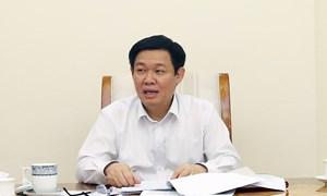 Phó Thủ tướng Vương Đình Huệ cho ý kiến về dự án Luật Quản lý, sử dụng tài sản công